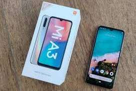Mi A3 seal pack mobile new 64gb