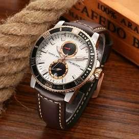 Jam Tangan Pria Import kulit Premium ready Makassar