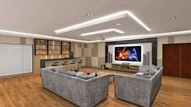 Peredam suara ruang akustik film karaoke studio musik bioskop  PRO