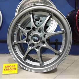 Velg Mobil Agya Calya Ring 14 Murah R14x6 Pcd 4x100 & 4x114,3 ET35 Jaz