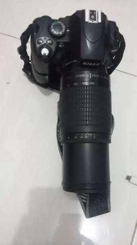 Kamera DSLR Nikon D 40,minus baterai