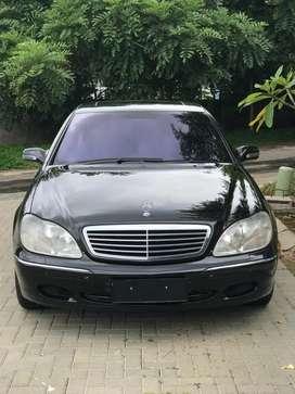 Mercedes Benz S320 Executive tahun 2001 CBU full spec - KM 56rb asli
