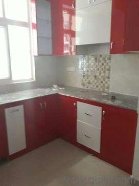 3bhk flat for rent crossing republik wood work flat