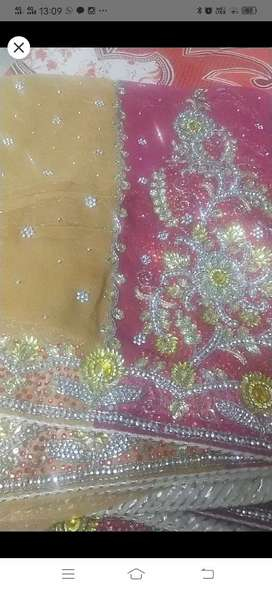 Designer heavyweight saree