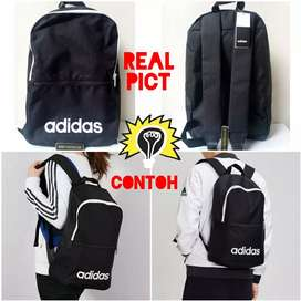 Adidas Lin Clas BP Day Linear Classic Backpack Daily DT8633 Tas Ori