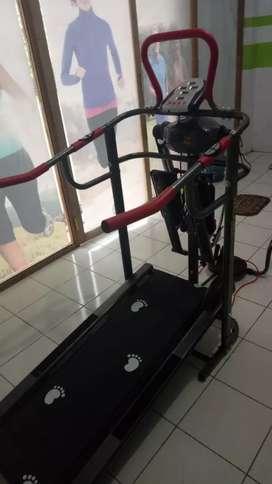 Treadmill new fitur manual lengkap