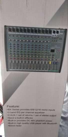 Mixer  BX Series  Play music input bisa dari HP