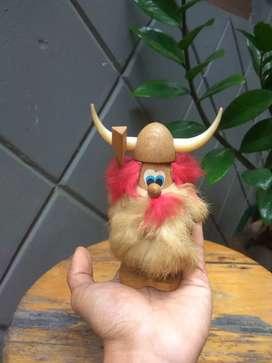 Patung Kayu Miniatur Antik