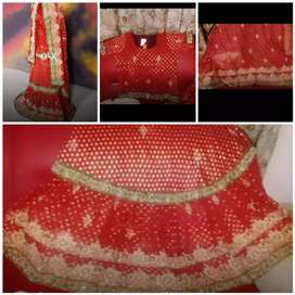 Beautiful brand new  indian Bridal dress for sale