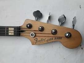 fender jazz bass original california