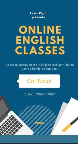 Spoken English Classes (Online)