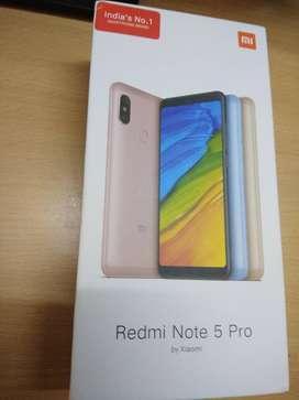 REDMI NOTE 5 PRO - 6gb + 64 gb Internal ,very good Condition,6 Months