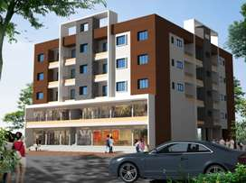 1BHK Apartment with 627 salable Area for Sale at Wagholi, Pune.