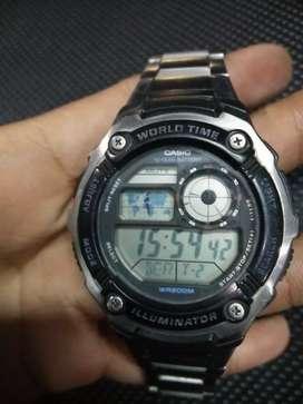 Jam tangan casio AE -2100 w