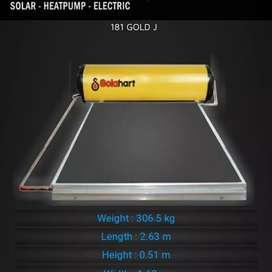 Pemasangan Solar Water Heater Solahart