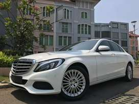C250 Exclusive 2016 White Sunroof Audio Burnsmester Km39rb TDP Ringan
