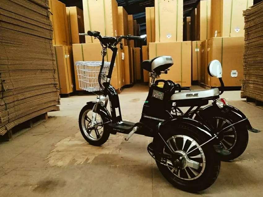 SELIS butterfly Trike / sepeda listrik roda tiga (promo)