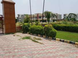 100 sq yards plot in gated project