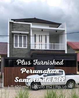 Rumah Mewah Plus Furnished Perumahan Samarinda Hill, Samarinda Seberan