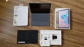 Samsung Tab S6 Garansi Resmi SEIN Bonus Book Cover Keyboard Original