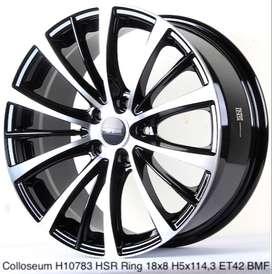 Velg Racing HSR Colloseum R18 Untuk Mobil Nissan Juke