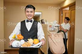 "Required "" Waiter / K. Helper / Table Boy / Fresher Boy / Asst Cook **"