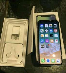 Apple iPhone X 256GB Silver Color - With New like Accessories