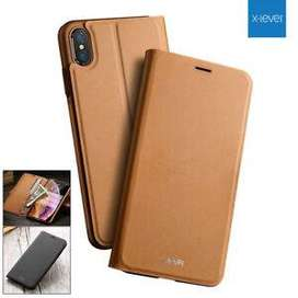Case Flip Cover X-LEVEL Iphone XS MAX Wallet III Leather Stand Flip