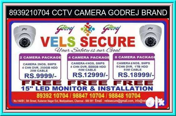 BEST &b GOOD QUALITY  CCTV Offer Price Godrej 0