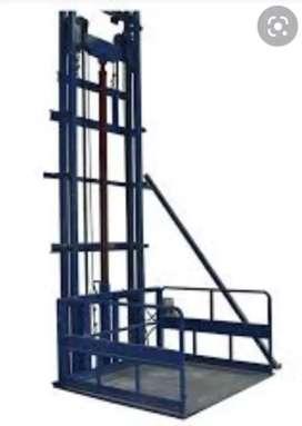 Pembuatan lift barang ruko.gudang.pabrik.dan proyek pembangunan