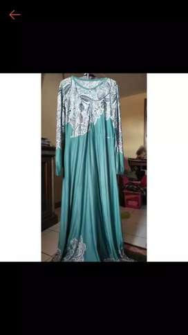 gamis + hijabnya