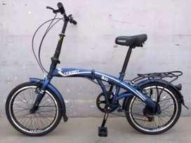 Sepeda Lipat 6 speed