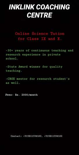 Online Science Tution (IX and X)