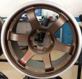 VELG racing ring 18 bisa untuk mobil Pajero sport Fortuner MU-X