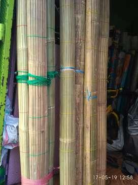 Tikar rotan, Tirai kayu, isi,Tirai isi Bambu
