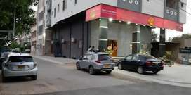 2500 + 2500 sqft commercial space main road gulshan