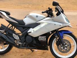 Yamaha r15 special edition all white