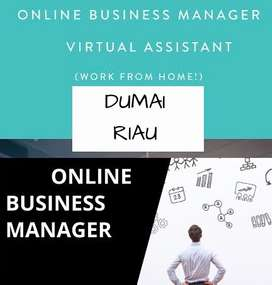 DICARI ONLINE BUSINESS MANAGER AREA DUMAI RIAU