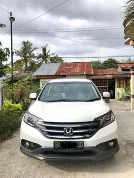 For sale Honda CR-V 2.4 Prestige 2013 Akhir.Plat BA padang