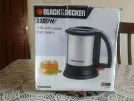 Black and Decker Coil Kettle - Brand new 2200w