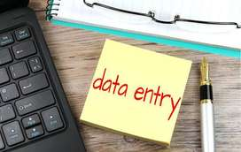 """@""""Hiring For Home Based Data Entry Work/ Typing work""""- Apply Now"""
