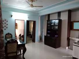 Fully Furnished Flat in Best maintained society )
