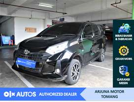 [OLX Autos] Toyota Calya 2019 1.2 E M/T Bensin Hitam #Arjuna Tomang