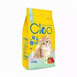 Cleo kitten OCEAN FISH 1,2 kg Makanan anak kucing catfood dry Rp 58k
