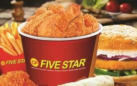 Wanted employee  for 5 star chicken