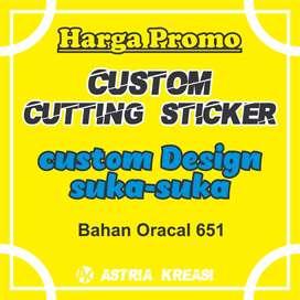 Custom cutting Sticker Suka-suka