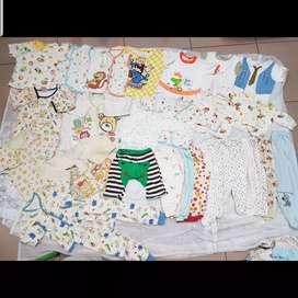 Baju Rumah n Baju Tidur Bayi 100rb dpt 20pcs