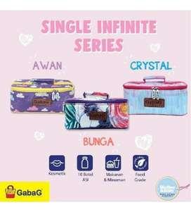 Gabag cooler bag infinite series + free icegel #LIBELjaya
