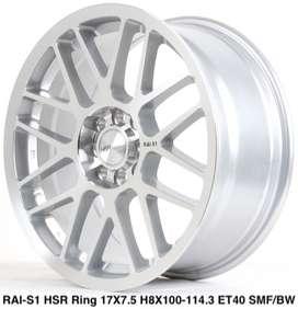 Velg  model RAI-S1 HSR R17X75 H8X100-114,3 ET40 SMF