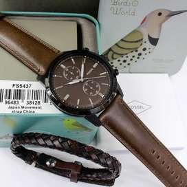Fossil Townsman FS5437 With Bracelet Original
